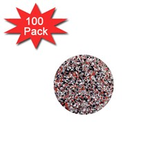 Hurley Mix Electric Electric Red Blend 1  Mini Magnets (100 Pack)  by Mariart