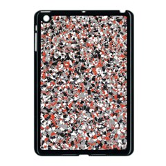 Hurley Mix Electric Electric Red Blend Apple Ipad Mini Case (black) by Mariart