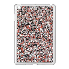 Hurley Mix Electric Electric Red Blend Apple Ipad Mini Case (white) by Mariart