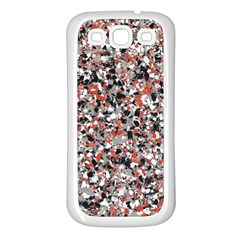 Hurley Mix Electric Electric Red Blend Samsung Galaxy S3 Back Case (white) by Mariart