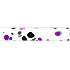 Colorful Random Blobs Background Flano Scarf (large) by Nexatart
