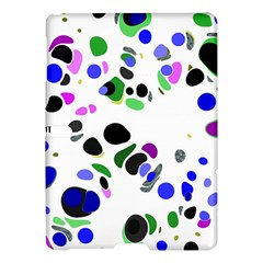 Colorful Random Blobs Background Samsung Galaxy Tab S (10 5 ) Hardshell Case  by Nexatart
