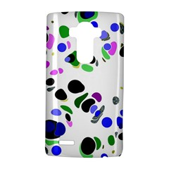 Colorful Random Blobs Background Lg G4 Hardshell Case by Nexatart