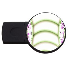 Abstract Background Usb Flash Drive Round (2 Gb) by Nexatart