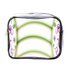 Abstract Background Mini Toiletries Bags by Nexatart