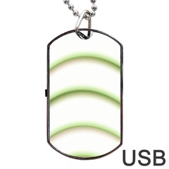 Abstract Background Dog Tag Usb Flash (two Sides) by Nexatart