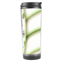 Abstract Background Travel Tumbler