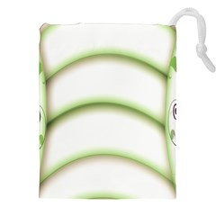 Abstract Background Drawstring Pouches (xxl) by Nexatart