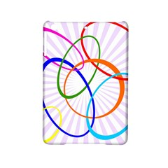 Abstract Background With Interlocking Oval Shapes Ipad Mini 2 Hardshell Cases by Nexatart