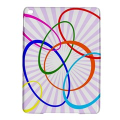 Abstract Background With Interlocking Oval Shapes Ipad Air 2 Hardshell Cases by Nexatart