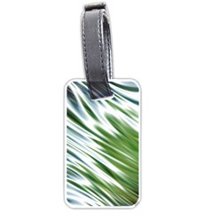 Fluorescent Flames Background Light Effect Abstract Luggage Tags (two Sides) by Nexatart