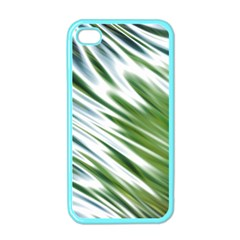 Fluorescent Flames Background Light Effect Abstract Apple Iphone 4 Case (color)