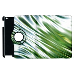 Fluorescent Flames Background Light Effect Abstract Apple Ipad 3/4 Flip 360 Case by Nexatart