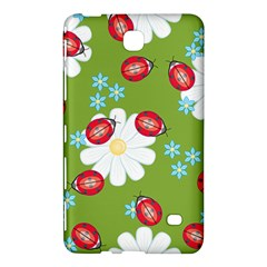 Insect Flower Floral Animals Star Green Red Sunflower Samsung Galaxy Tab 4 (8 ) Hardshell Case  by Mariart