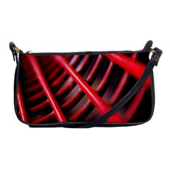 Abstract Of A Red Metal Chair Shoulder Clutch Bags