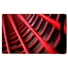 Abstract Of A Red Metal Chair Apple Ipad 3/4 Flip Case