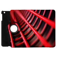 Abstract Of A Red Metal Chair Apple Ipad Mini Flip 360 Case