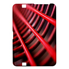 Abstract Of A Red Metal Chair Kindle Fire Hd 8 9  by Nexatart