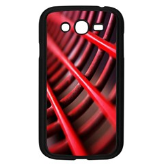 Abstract Of A Red Metal Chair Samsung Galaxy Grand Duos I9082 Case (black) by Nexatart