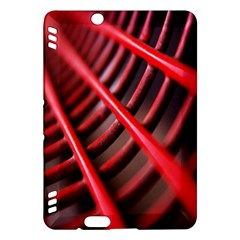 Abstract Of A Red Metal Chair Kindle Fire Hdx Hardshell Case