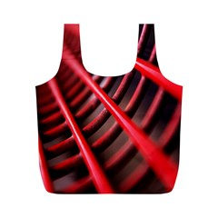 Abstract Of A Red Metal Chair Full Print Recycle Bags (m)  by Nexatart