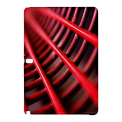 Abstract Of A Red Metal Chair Samsung Galaxy Tab Pro 12 2 Hardshell Case by Nexatart
