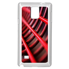 Abstract Of A Red Metal Chair Samsung Galaxy Note 4 Case (white)