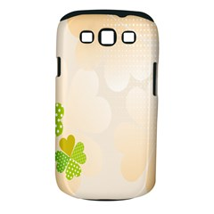 Leaf Polka Dot Green Flower Star Samsung Galaxy S Iii Classic Hardshell Case (pc+silicone) by Mariart