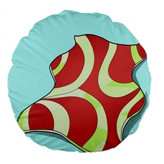 Make Bedroom Unique Large 18  Premium Flano Round Cushions by Mariart