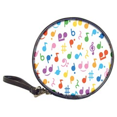 Musical Notes Classic 20 Cd Wallets by Mariart