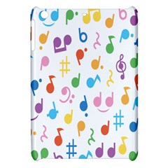 Musical Notes Apple Ipad Mini Hardshell Case by Mariart