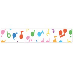 Musical Notes Flano Scarf (large) by Mariart