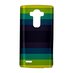 Neon Stripes Line Horizon Color Rainbow Yellow Blue Purple Black Lg G4 Hardshell Case by Mariart
