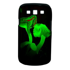 Neon Green Resolution Mushroom Samsung Galaxy S Iii Classic Hardshell Case (pc+silicone) by Mariart
