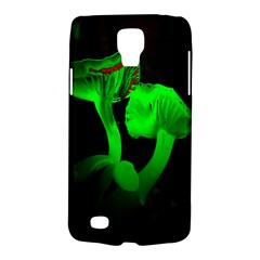 Neon Green Resolution Mushroom Galaxy S4 Active by Mariart