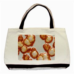 Abstract Texture A Completely Seamless Tile Able Background Design Basic Tote Bag by Nexatart