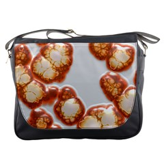 Abstract Texture A Completely Seamless Tile Able Background Design Messenger Bags by Nexatart