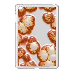Abstract Texture A Completely Seamless Tile Able Background Design Apple Ipad Mini Case (white) by Nexatart