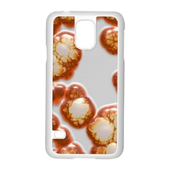 Abstract Texture A Completely Seamless Tile Able Background Design Samsung Galaxy S5 Case (white)