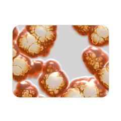 Abstract Texture A Completely Seamless Tile Able Background Design Double Sided Flano Blanket (mini)  by Nexatart