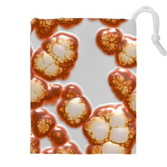 Abstract Texture A Completely Seamless Tile Able Background Design Drawstring Pouches (xxl) by Nexatart