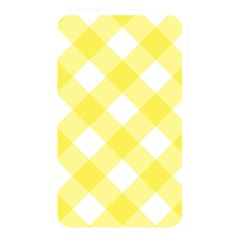 Plaid Chevron Yellow White Wave Memory Card Reader by Mariart