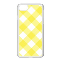 Plaid Chevron Yellow White Wave Apple Iphone 7 Seamless Case (white) by Mariart