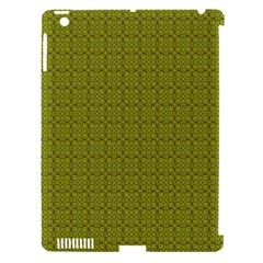 Royal Green Vintage Seamless Flower Floral Apple Ipad 3/4 Hardshell Case (compatible With Smart Cover) by Mariart