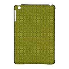 Royal Green Vintage Seamless Flower Floral Apple Ipad Mini Hardshell Case (compatible With Smart Cover) by Mariart
