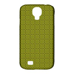 Royal Green Vintage Seamless Flower Floral Samsung Galaxy S4 Classic Hardshell Case (pc+silicone) by Mariart