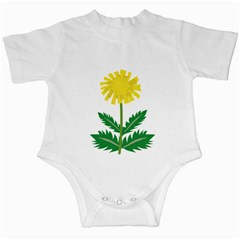 Sunflower Floral Flower Yellow Green Infant Creepers