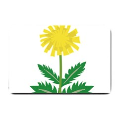 Sunflower Floral Flower Yellow Green Small Doormat