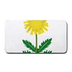 Sunflower Floral Flower Yellow Green Medium Bar Mats