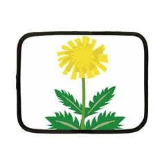 Sunflower Floral Flower Yellow Green Netbook Case (small)